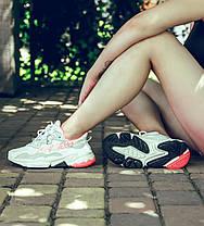 Женские кроссовки Adidas Ozweego Adiprene White Orange, фото 3