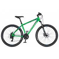 "Велосипед AUTHOR (2020) Rival 27.5"", рама 17"", цвет-зелёный // чёрный"