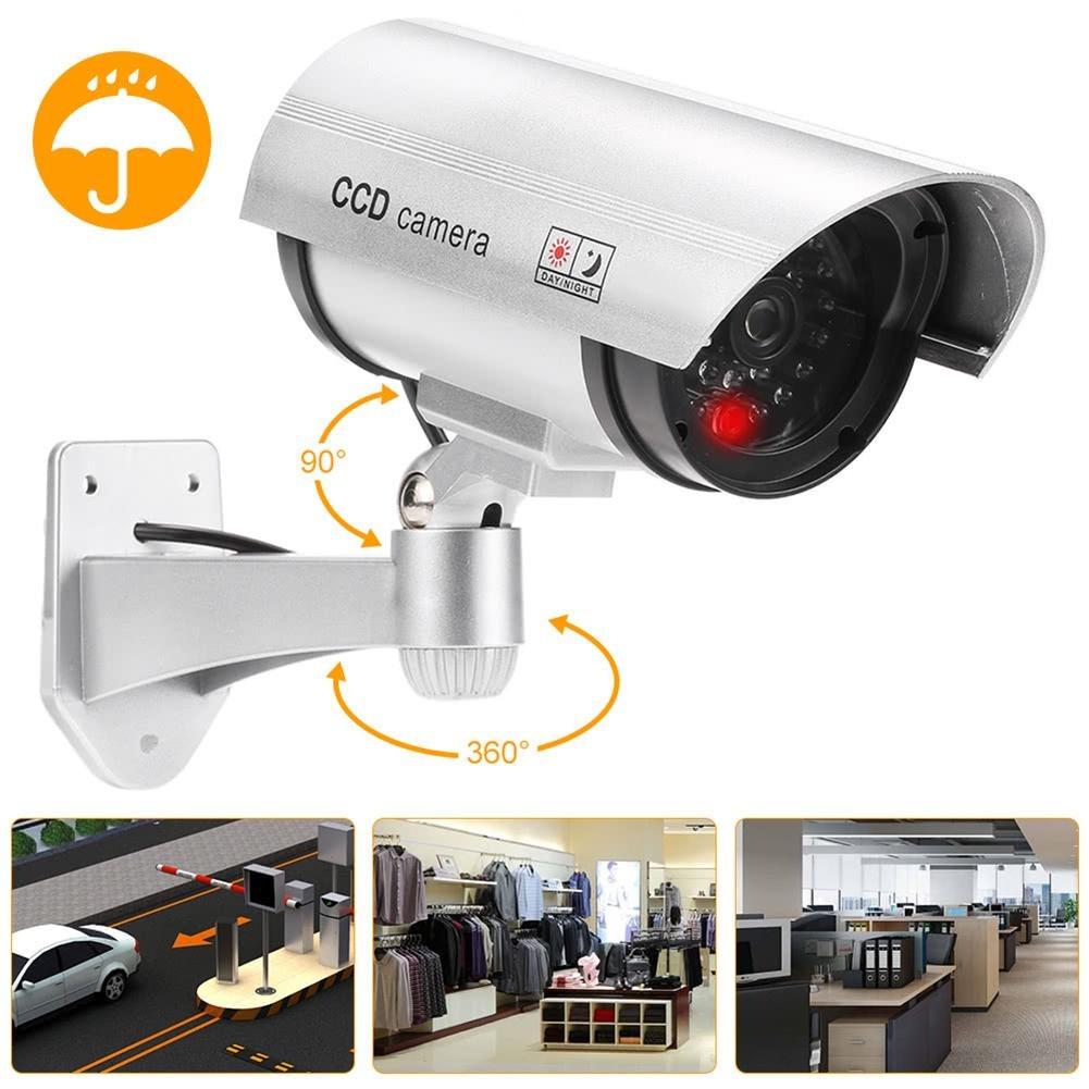 Муляж камеры видеонаблюдения с ИК-подсветкой Dummy IR CCD