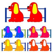 Паркан Півники. Огородження для дитячих майданчиків. Колір на вибір.