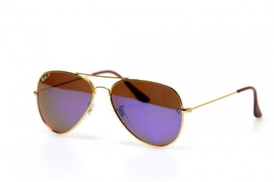 Солнцезащитные очки Ray Ban Aviator 3025W3282P, унисекс