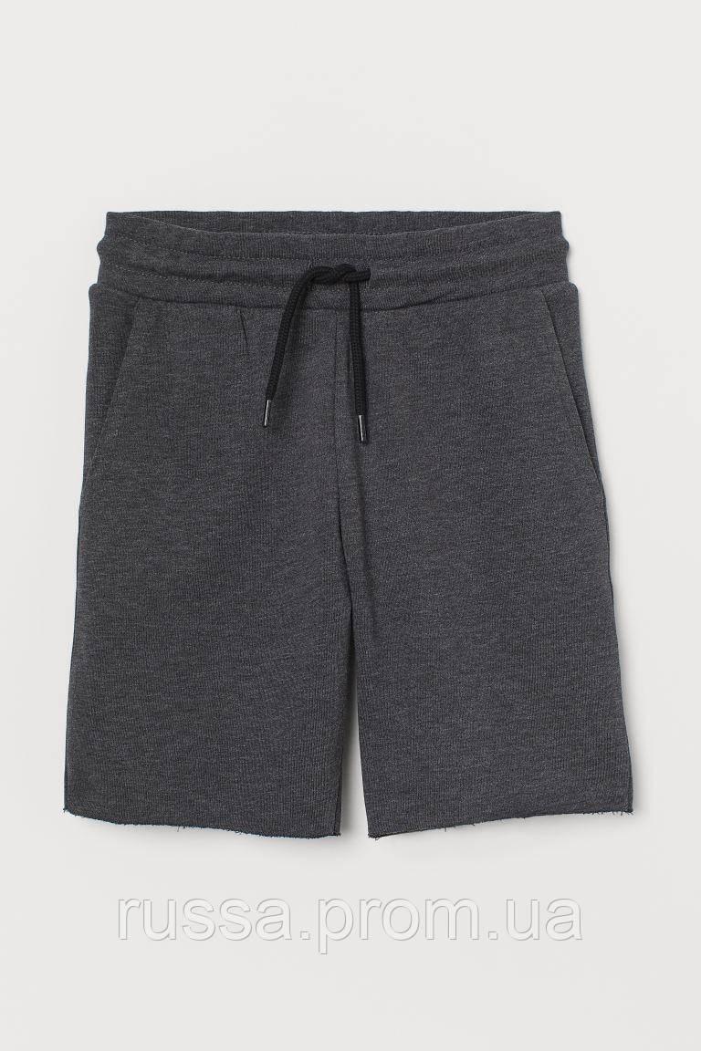 Серые летние шорты на завязках НМ для мальчика