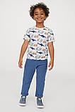 Классные детские брюки чинос с отворотами для мальчика, фото 2