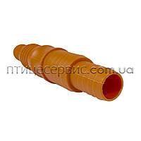 Трубка соединительная (штуцер) 1/2-3/4″(14-20 мм) пластик, фото 1