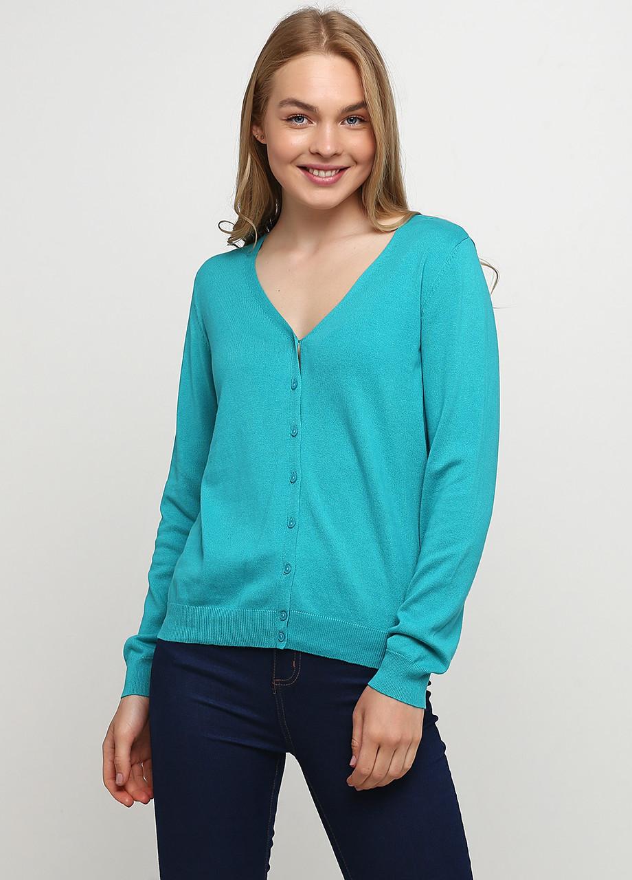 Стильная женская хлопковая кофта, пуловер от C&A, Германия, размер S-M