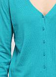 Стильная женская хлопковая кофта, пуловер от C&A, Германия, размер S-M, фото 4
