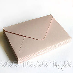 Конверт 175x125 мм, цвет розовое золото (rose gold)