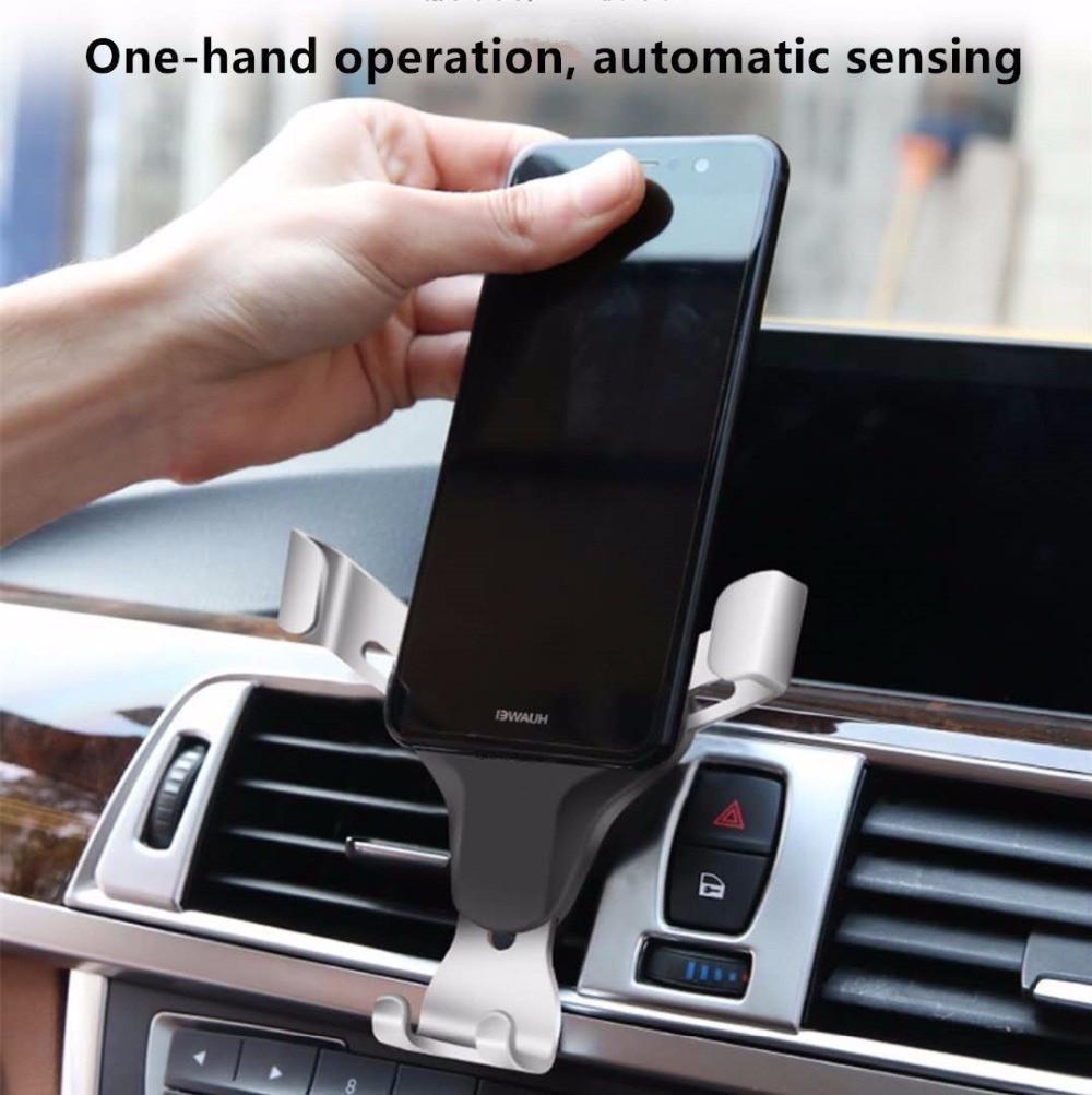 Крепление для  телефона / автомобильный держатель в дефлектор HOLDER SJJ-861