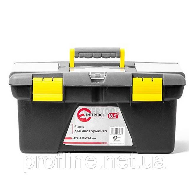 """Ящик для инструмента 18.5"""" 472*250*224мм BX-0318"""