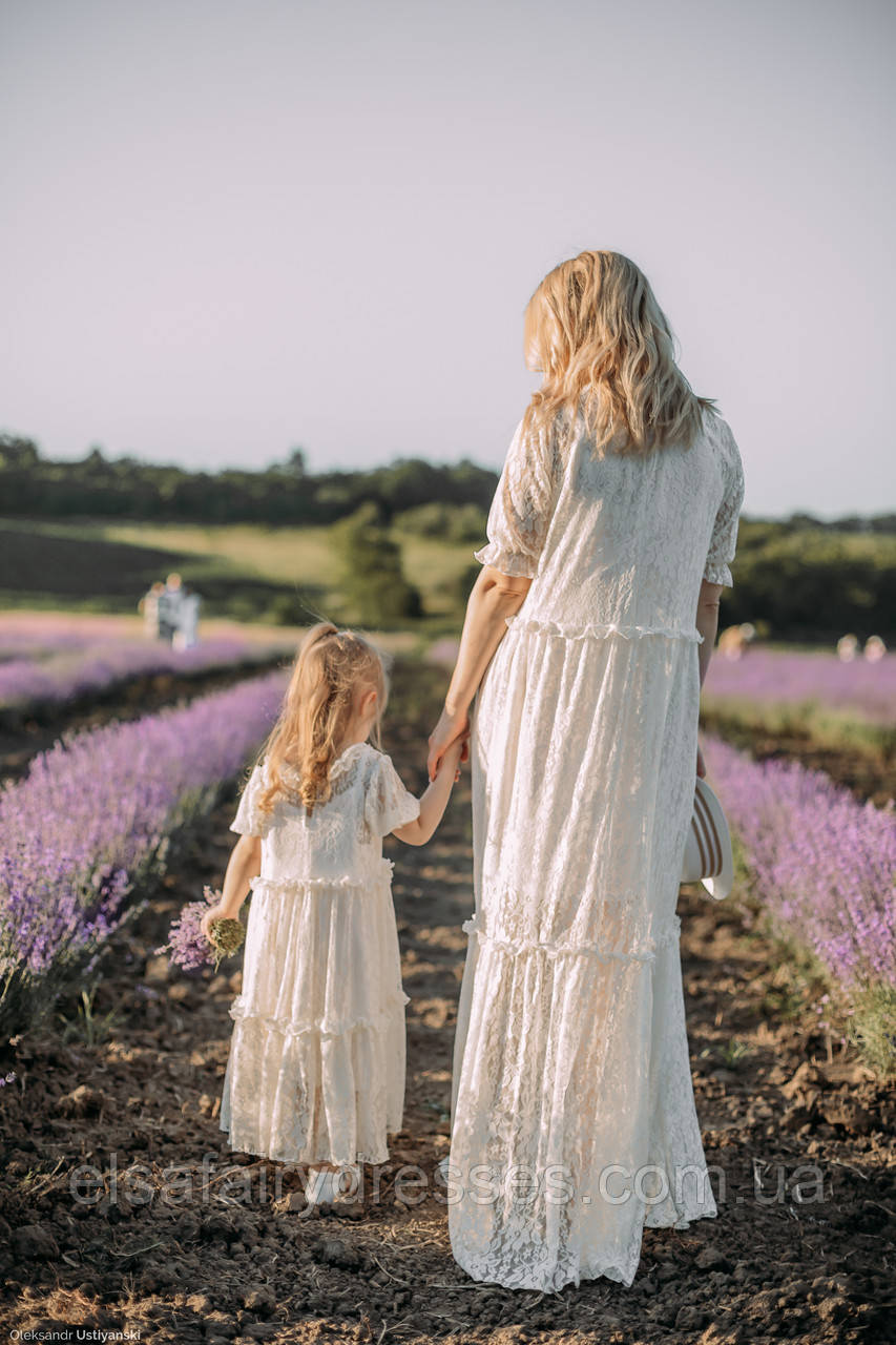 "FAMILY LOOK / Комплект мама і дочка ""LAVANDE"" MAXY"
