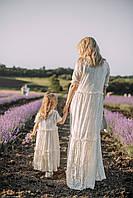 "FAMILY LOOK / Комплект мама і дочка ""LAVANDE"" MAXY, фото 1"