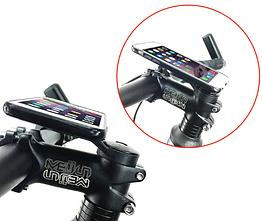 Кріплення для вело компа / телефону на якір / кришку керма (наклейка з роз'ємом BRYTON в комплекті)