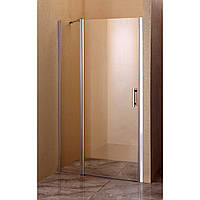 Душевая дверь Sansa SH-707, рама brushed, стекло прозрачное 6 мм, 100 х 185 мм