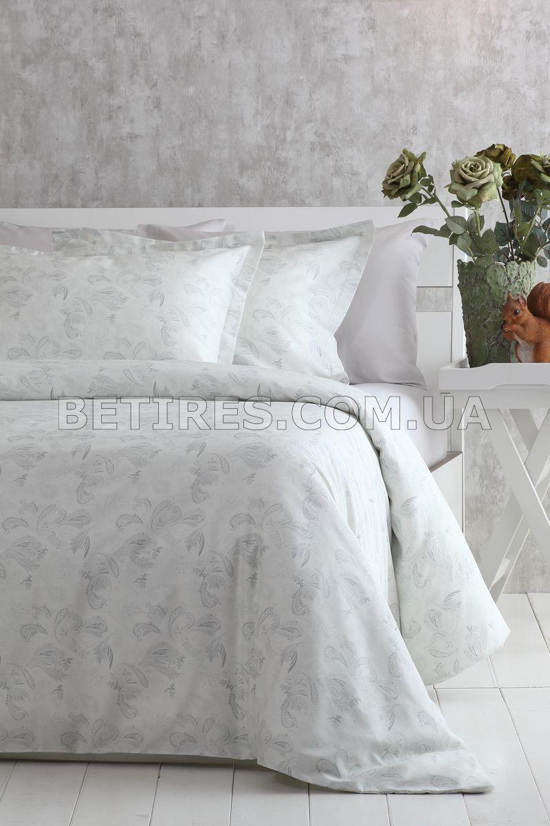 Комплект постельного белья 160x220 PAVIA CLARIS молочно-серый