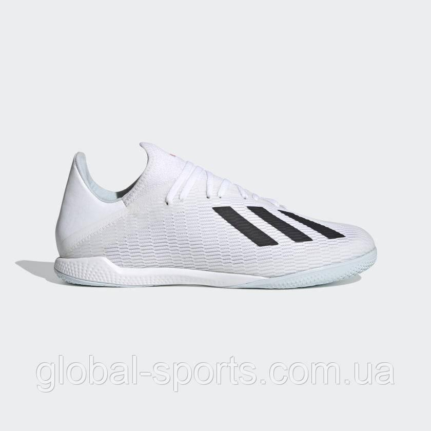 Мужские футзальные бутсы Adidas X 19.3 IN(Артикул:EG7153)