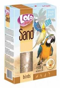 Песок для птиц с ракушками Lolo Pets