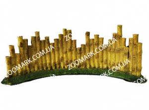 Декор-бамбуковая стена полукруглая, U-315 2499 см