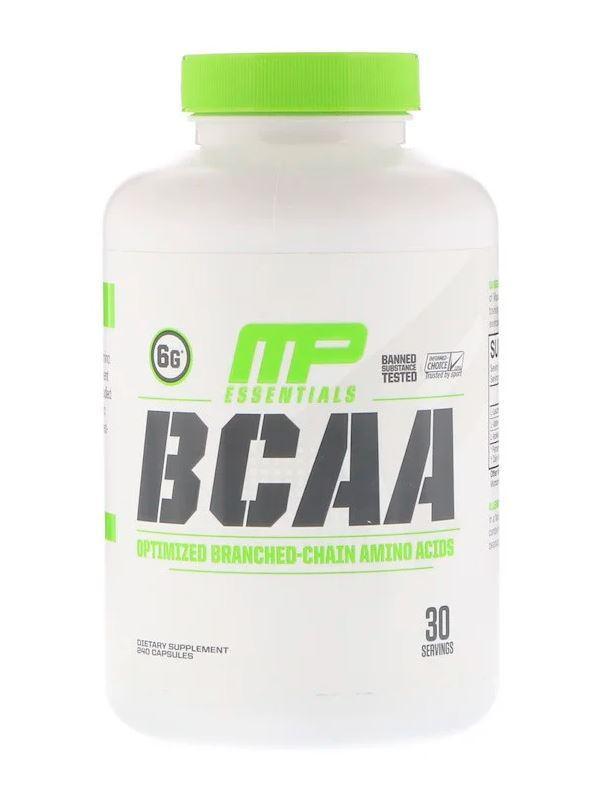 MusclePharm BCAA Essentials (240 капс.)