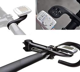 Кріплення виносне на кермо для вело компа GARMIN / BRYTON і для телефону (з дод наклейкою)