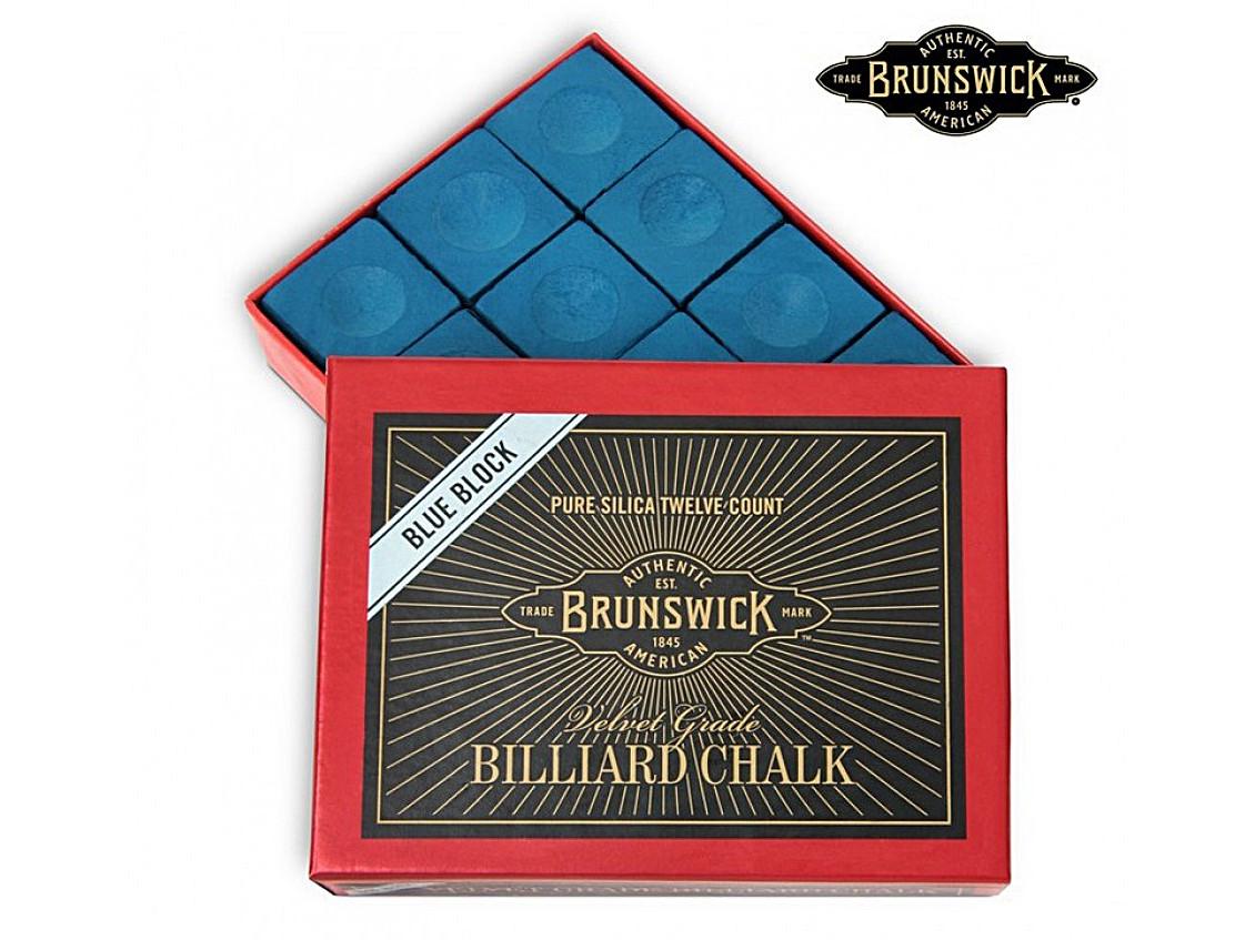 Мел Brunswick синий 12шт