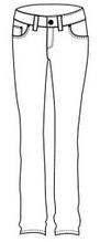 Джинсы, брюки, комбинезоны для девочек