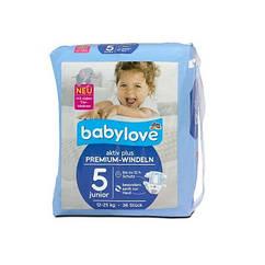 Підгузки Babylove Premium 5 (12-25кг), 36шт