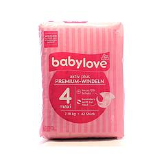 Підгузки Babylove Premium 4 (7-18кг), 42шт
