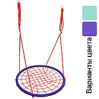 Гойдалка дитяча підвісна Гніздо Лелеки 100 см Play4Fun для дітей, фото 1