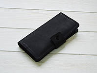 Кожаный портмоне в подарок мужчине с гравировкой
