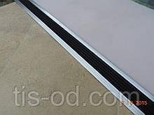 Порожная планка с противоскользящей вставкой 48 мм планка пороговая с противоскользящей вставкой