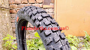 Шина на мотоцикл 110/90-18 кроссовая камерна, фото 2
