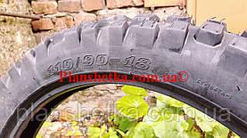 Шина на мотоцикл 110/90-18 кроссовая камерна, фото 3