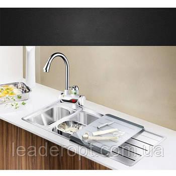 ОПТ Електричний проточний водонагрівач з екраном і душем RAPID OL-010