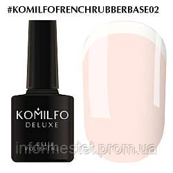 База Komilfo French Rubber Base 002 Baby Lips, 8 мл