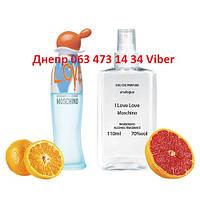 Moschino Cheap & Chic I Love Love для женщин, Analogue Parfume 110 мл