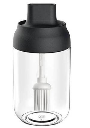 Емкость для хранения растительного масла с кисточкой (Банка для растительного  масла), фото 2