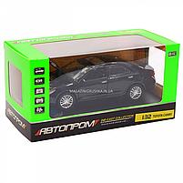 Машинка игровая автопром «Toyota Camry» Тойота, металл, 14 см, черный (свет, звук, двери открываются) 7814, фото 2
