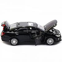 Машинка игровая автопром «Toyota Camry» Тойота, металл, 14 см, черный (свет, звук, двери открываются) 7814, фото 7