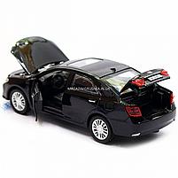 Машинка игровая автопром «Toyota Camry» Тойота, металл, 14 см, черный (свет, звук, двери открываются) 7814, фото 8