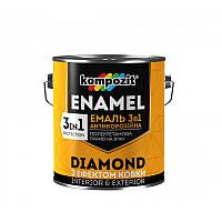 Эмаль антикоррозионная 3 в 1 DIAMOND