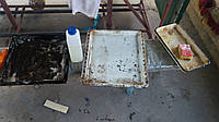 Щелочное пенное моющее для ручной мойки 1кг ТМ RISE