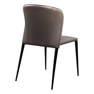 Arthur (Артур) Concepto стілець обідній шкіряний попелясто-сірий, фото 2