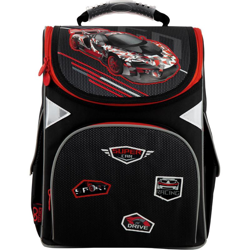 Рюкзак школьный GoPack Education ортопедический ортопедический каркасный для первоклассника с ортопедической спинкой 5001-14 Super race |44600
