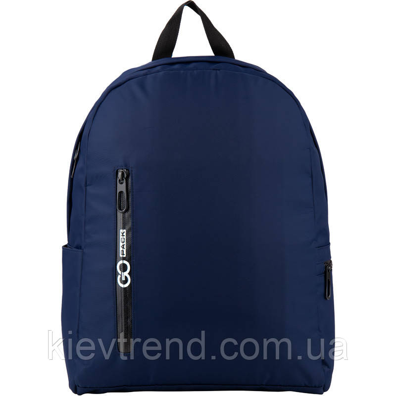 Рюкзак GoPack Сity 156-2 синий  44657