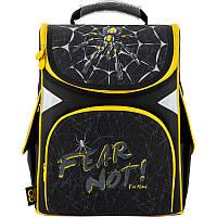 Рюкзак школьный GoPack Education ортопедический ортопедический каркасный для первоклассника с ортопедической спинкой 5001-9 Spider |44595, фото 1