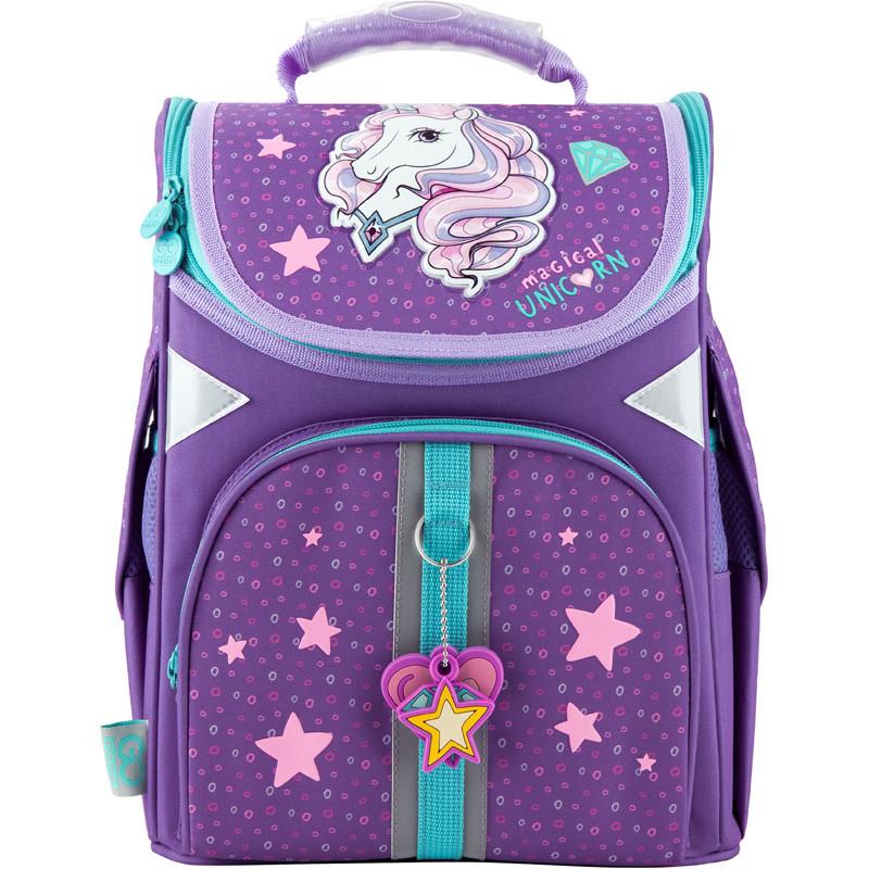 Рюкзак шкільний GoPack Education ортопедичний для першокласника з ортопедичною спинкою каркасний