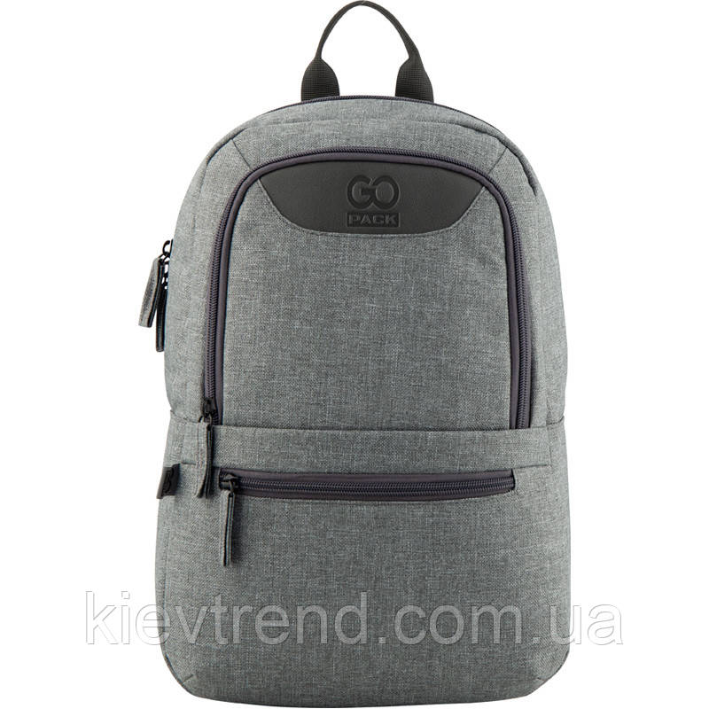 Рюкзак GoPack Сity 119S-1 серый  44625