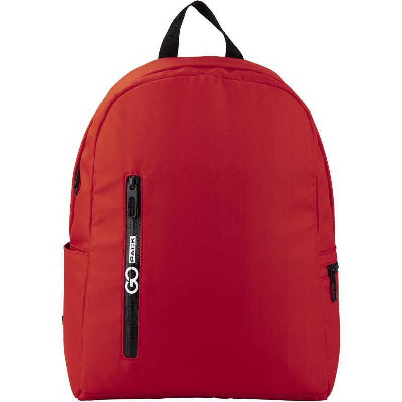 Рюкзак GoPack Сity 156-1 червоний  44656