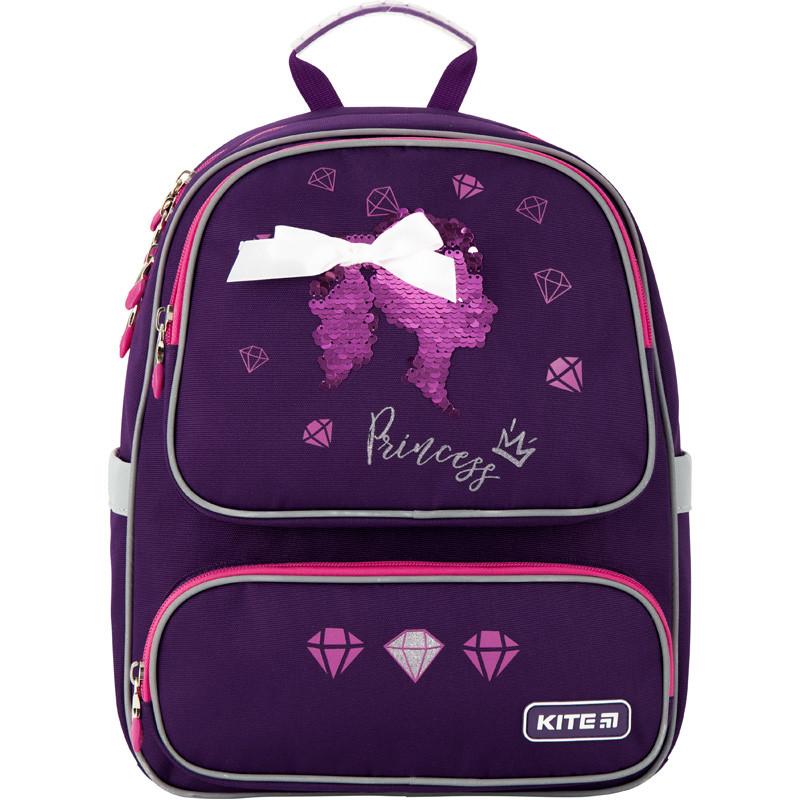Рюкзак Kite Education 777 с принцессами Princess  |44405