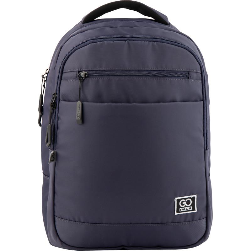 Рюкзак GoPack Сity 143-1 сірий |44633